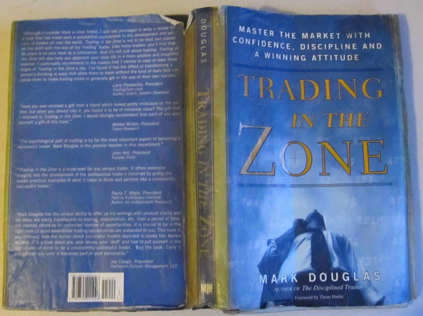 """Trading in the Zone"" by Mark Douglas"